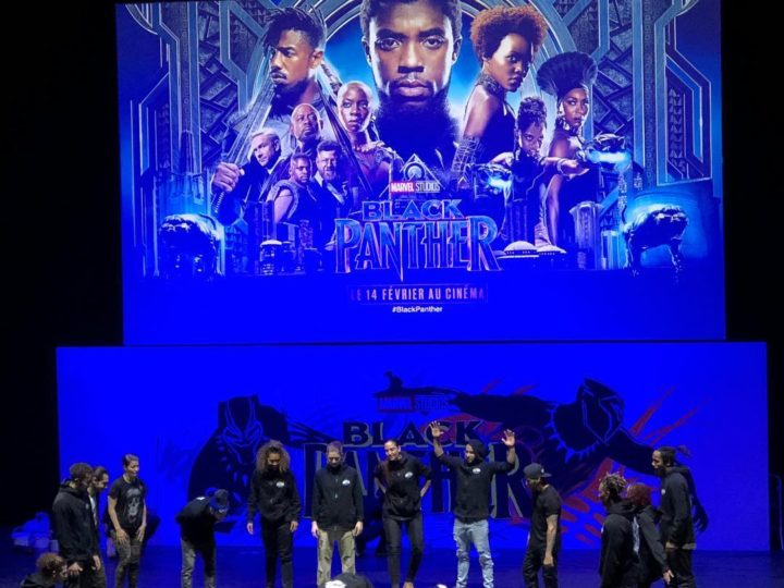 Black Panther: preview showing show